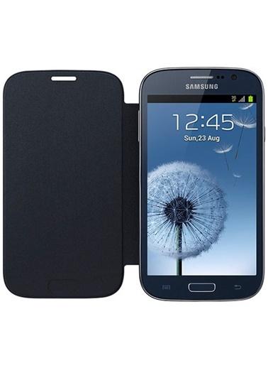 Samsung Samsung Galaxy Grand Neo/Duos Flip Cover Orjinal Kılıf - Lacivert - Ef-Fi908Blegww (Outlet) Renkli